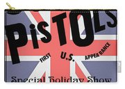 Sex Pistols First Us Appearance Carry-all Pouch
