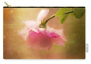 Shabby Chic Rose Print Carry-all Pouch