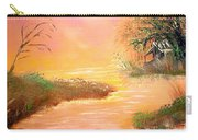 Shack In The Bayou At Dawn Carry-all Pouch