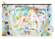 Shackleton - Watercolor Portrait Carry-all Pouch