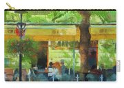Shaded Cafe Carry-all Pouch by Jeff Kolker