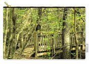 Shades Mountain Bridge In The Forest Carry-all Pouch