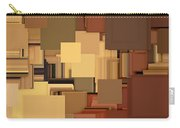Shades Of Brown Carry-all Pouch by Lourry Legarde