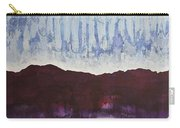 Shades Of New Mexico Original Painting Carry-all Pouch