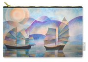 Shades Of Tranquility Carry-all Pouch