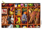 Shadow Box Full Of Toys Carry-all Pouch
