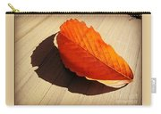 Shadow Cast By Leaf Carry-all Pouch