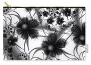 Shadow Flowers Carry-all Pouch