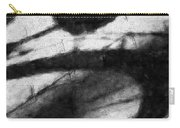 Shadow Heart Graphite Drawing Carry-all Pouch