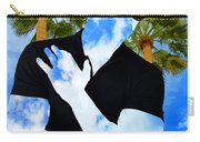 Shadow Man Palm Springs Carry-all Pouch