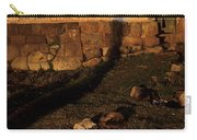 Shadow Of Cross Peru Carry-all Pouch