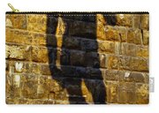 Shadow Of Michaelangelo's David Carry-all Pouch