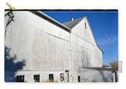 Shadow On White Barn Carry-all Pouch