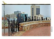 Shadow Representations Of People Coming To The Port In Donkin Reserve In Port Elizabeth-south Africa   Carry-all Pouch