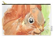 Shadow Tail Red Squirrel Carry-all Pouch