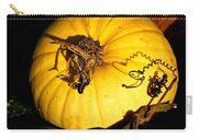 Shadowed Spiraled Squash Carry-all Pouch