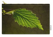 Shadows And Light Of The Leaf Carry-all Pouch
