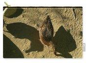 Shadows Of A Mallard Duck Carry-all Pouch