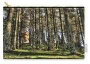 Shadows Of The Larch Forest Sunset No2 Carry-all Pouch