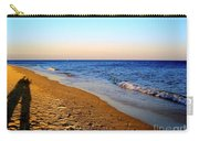 Shadows On Sand Beach Carry-all Pouch