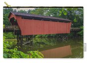 Shaeffer Or Campbell Covered Bridge Carry-all Pouch