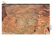 Shafer Trail Carry-all Pouch by Adam Romanowicz