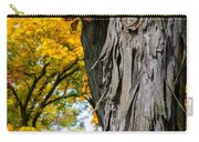 Shagbark Hickory Tree Carry-all Pouch