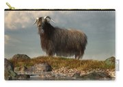 Shaggy Goat Carry-all Pouch