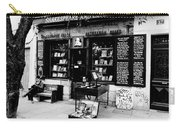 Shakespeare And Company Boookstore In Paris France Carry-all Pouch