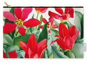 Shakespeare Tulips Carry-all Pouch