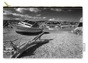 Shaldon Beach In Mono  Carry-all Pouch