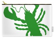 Shamrock Lobster With Feelers 458 20120114 Carry-all Pouch