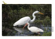Sharing The Fishing Grounds Carry-all Pouch