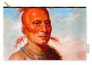Sharitarish. Wicked Chief. Pawnee Carry-all Pouch