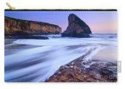 Shark Fin Tide - Santa Cruz California Carry-all Pouch by Jamie Pham