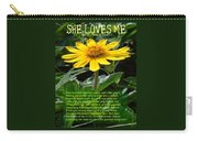 She Loves Me Carry-all Pouch