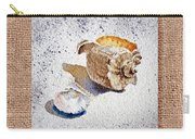 She Sells Sea Shells Decorative Collage Carry-all Pouch
