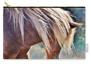 She Tossed Her Mane - Wild Pony Of Assateague Carry-all Pouch