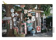 Shed Toilet Bowls And Plaques In Seligman Carry-all Pouch by RicardMN Photography