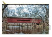 Sheeder - Hall - Covered Bridge Chester County Pa Carry-all Pouch