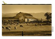 Sheep And Barn Carry-all Pouch