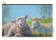 Sheep Lying Down Carry-all Pouch