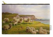 Sheep On A Dorset Coast Carry-all Pouch