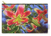 Sheherazade Lilies 1 Carry-all Pouch