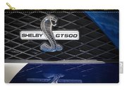 Shelby Gt 500 Carry-all Pouch