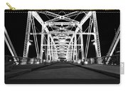 Shelby Street Bridge At Night In Nashville Carry-all Pouch