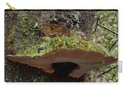 Shelf Mushroom With Moss Carry-all Pouch