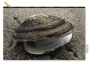 Shell  Abstract Carry-all Pouch