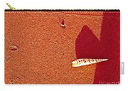 Shell And Sand Reddish Version Carry-all Pouch