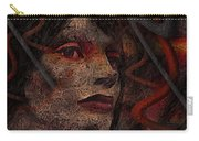 Shell Cyborg Portrait Carry-all Pouch